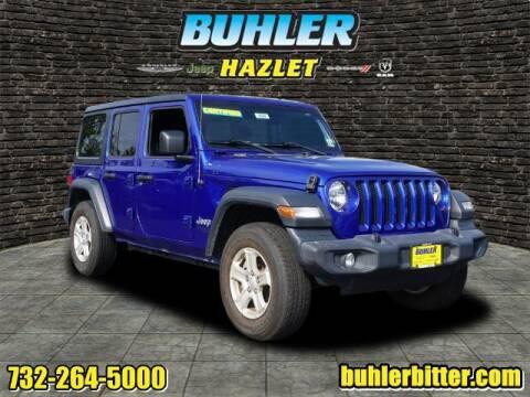 2018 Jeep Wrangler Unlimited for sale at Buhler and Bitter Chrysler Jeep in Hazlet NJ