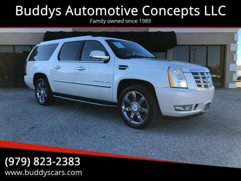 2007 Cadillac Escalade ESV for sale at Buddys Automotive Concepts LLC in Bryan TX