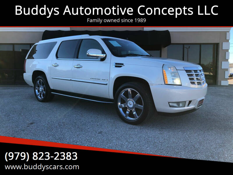 2007 Cadillac Escalade ESV for sale at Buddys Automotive Concepts LLC in Bryan TX