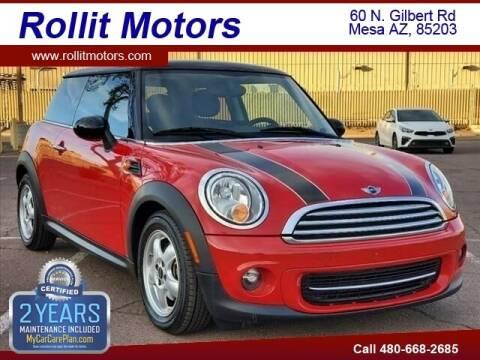 2011 MINI Cooper for sale at Rollit Motors in Mesa AZ