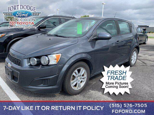 2012 Chevrolet Sonic for sale in Fort Dodge, IA