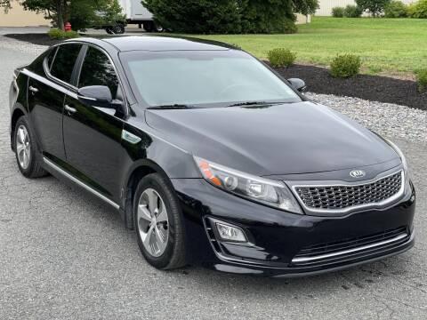 2015 Kia Optima Hybrid for sale at ECONO AUTO INC in Spotsylvania VA
