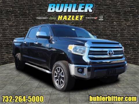 2016 Toyota Tundra for sale at Buhler and Bitter Chrysler Jeep in Hazlet NJ