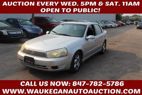 2005 Saturn L300 for sale at Waukegan Auto Auction in Waukegan IL