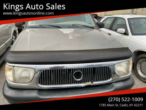 1999 Mercury Mountaineer for sale at Kings Auto Sales in Cadiz KY