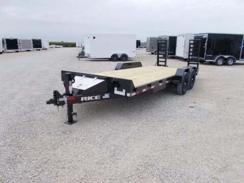 2021 Rice Trailers 14k Equipment