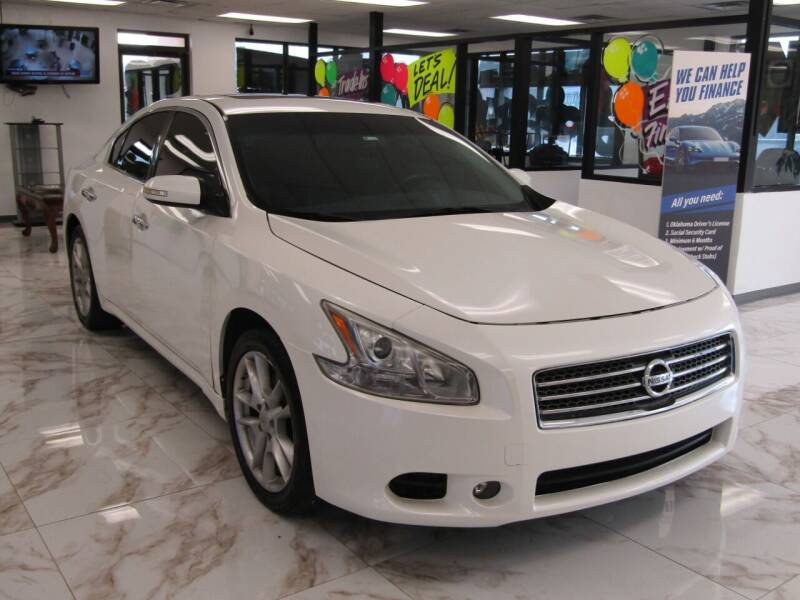 2010 Nissan Maxima for sale at Dealer One Auto Credit in Oklahoma City OK
