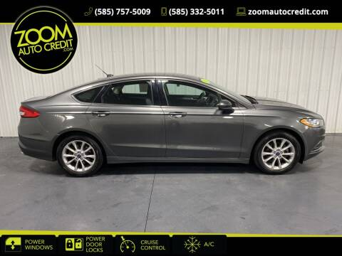 2017 Ford Fusion for sale at ZoomAutoCredit.com in Elba NY