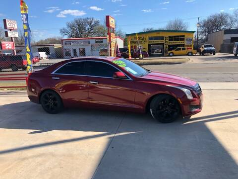 2013 Cadillac ATS for sale at D & M Vehicle LLC in Oklahoma City OK