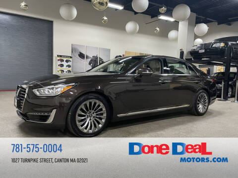 2017 Genesis G90 for sale at DONE DEAL MOTORS in Canton MA