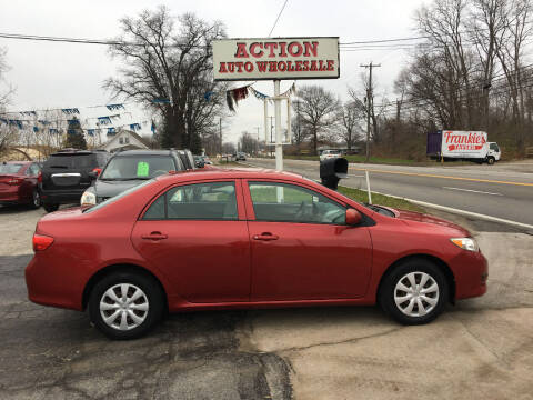 2009 Toyota Corolla for sale at Action Auto Wholesale in Painesville OH