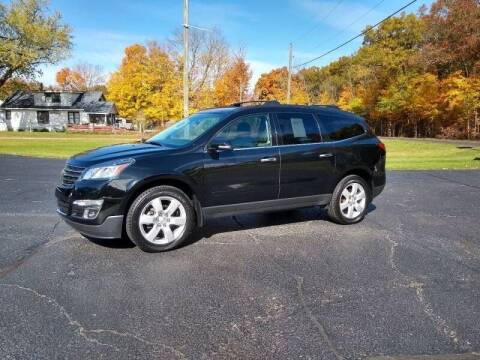 2015 Chevrolet Traverse for sale at Depue Auto Sales Inc in Paw Paw MI
