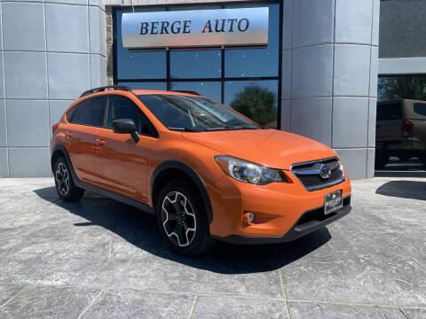 2015 Subaru XV Crosstrek for sale at Berge Auto in Orem UT