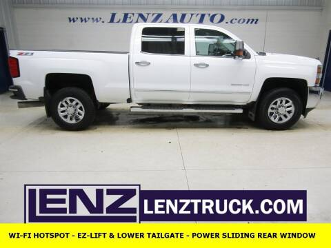 2016 Chevrolet Silverado 2500HD for sale at LENZ TRUCK CENTER in Fond Du Lac WI