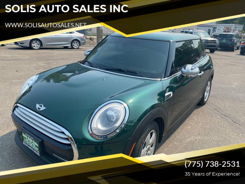 2014 MINI Hardtop for sale at SOLIS AUTO SALES INC in Elko NV