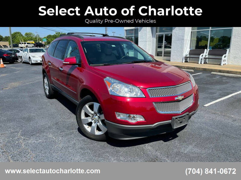 2012 Chevrolet Traverse for sale at Select Auto of Charlotte in Matthews NC
