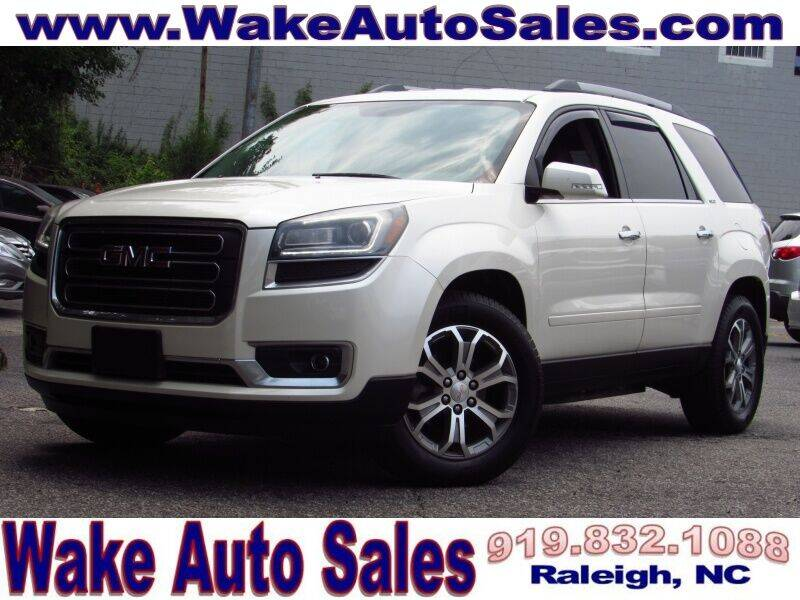 2015 GMC Acadia for sale at Wake Auto Sales Inc in Raleigh NC