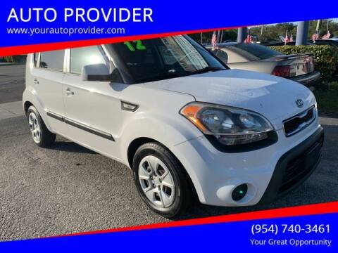 2012 Kia Soul for sale at AUTO PROVIDER in Fort Lauderdale FL