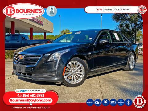 2018 Cadillac CT6 for sale at Bourne's Auto Center in Daytona Beach FL