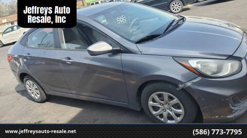 2013 Hyundai Accent for sale at Jeffreys Auto Resale, Inc in Clinton Township MI