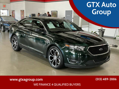 2013 Ford Taurus for sale at GTX Auto Group in West Chester OH