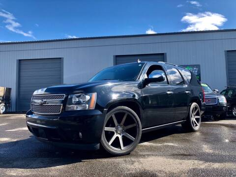 2008 Chevrolet Tahoe for sale at DASH AUTO SALES LLC in Salem OR