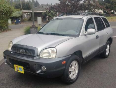 2004 Hyundai Santa Fe for sale at TOP Auto BROKERS LLC in Vancouver WA