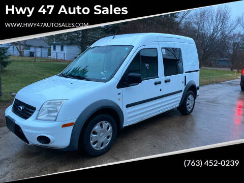 2013 Ford Transit Connect for sale at Hwy 47 Auto Sales in Saint Francis MN