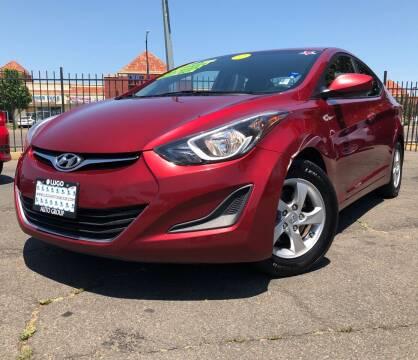 2015 Hyundai Elantra for sale at LUGO AUTO GROUP in Sacramento CA