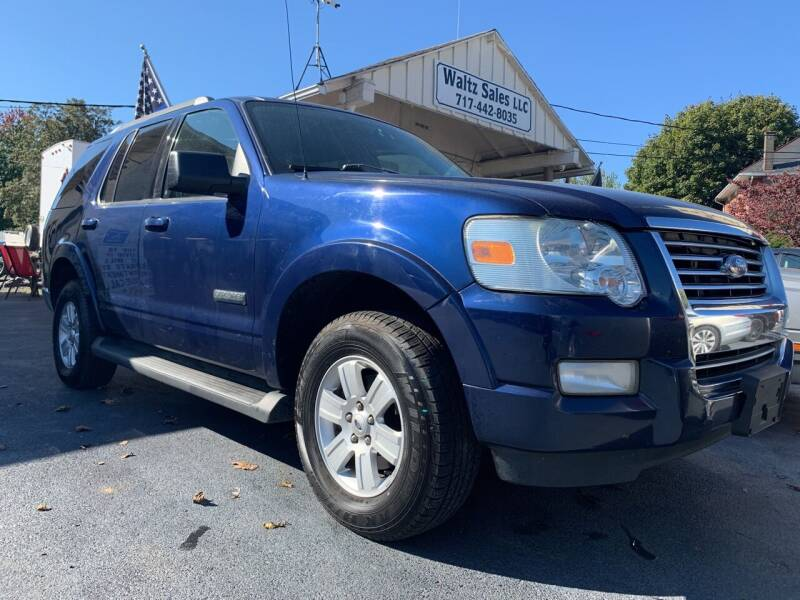 2008 Ford Explorer for sale at Waltz Sales LLC in Gap PA