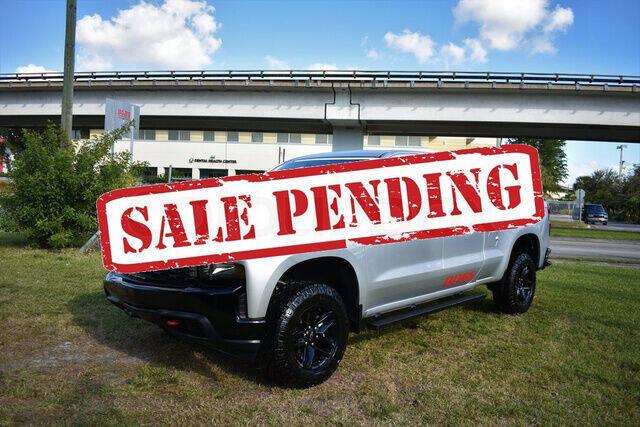 2019 Chevrolet Silverado 1500 for sale at ELITE MOTOR CARS OF MIAMI in Miami FL
