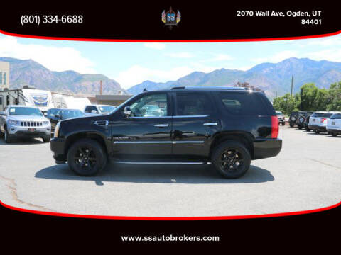 2014 Cadillac Escalade for sale at S S Auto Brokers in Ogden UT