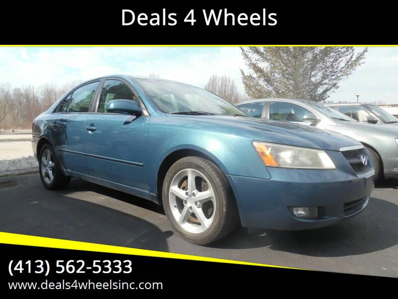 2008 Hyundai Sonata for sale at Deals 4 Wheels in Westfield MA