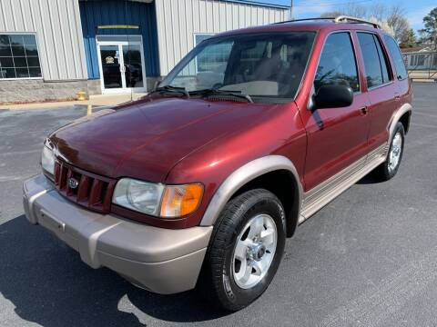2002 Kia Sportage for sale at Vanns Auto Sales in Goldsboro NC