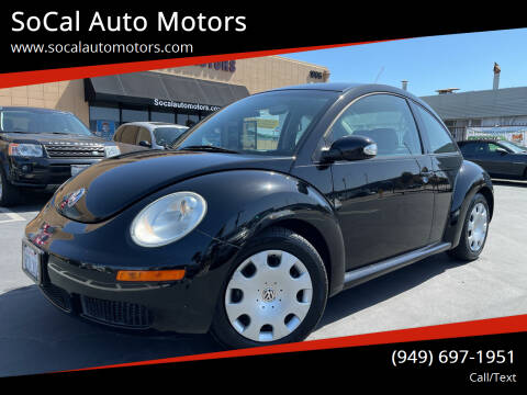2010 Volkswagen New Beetle for sale at SoCal Auto Motors in Costa Mesa CA