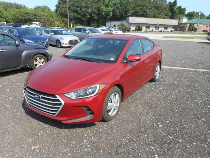 2017 Hyundai Elantra for sale at Auto Center Elite Vehicles LLC in Spartanburg SC