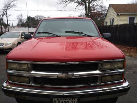 1998 Chevrolet C/K 1500 Series for sale at Maple Street Auto Sales in Bellingham MA