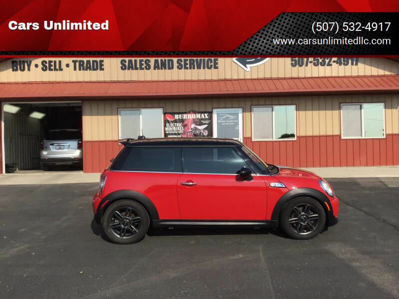 2011 MINI Cooper for sale at Cars Unlimited in Marshall MN