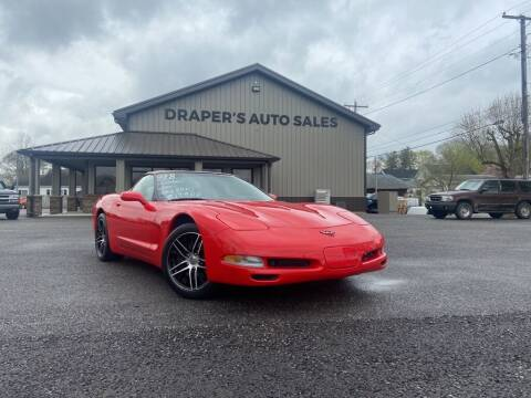 1998 Chevrolet Corvette for sale at Drapers Auto Sales in Peru IN