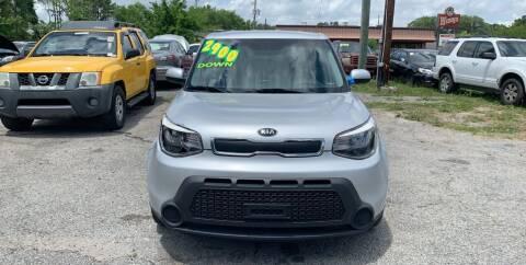 2015 Kia Soul for sale at Auto Mart in North Charleston SC