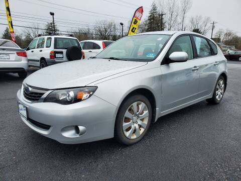 2009 Subaru Impreza for sale at AFFORDABLE IMPORTS in New Hampton NY
