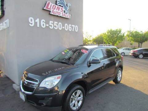 2012 Chevrolet Equinox for sale at LIONS AUTO SALES in Sacramento CA