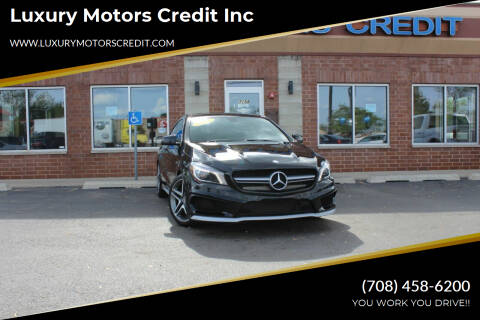 2014 Mercedes-Benz CLA for sale at Luxury Motors Credit Inc in Bridgeview IL