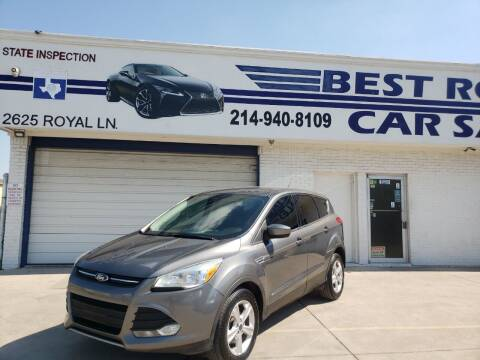 2014 Ford Escape for sale at Best Royal Car Sales in Dallas TX