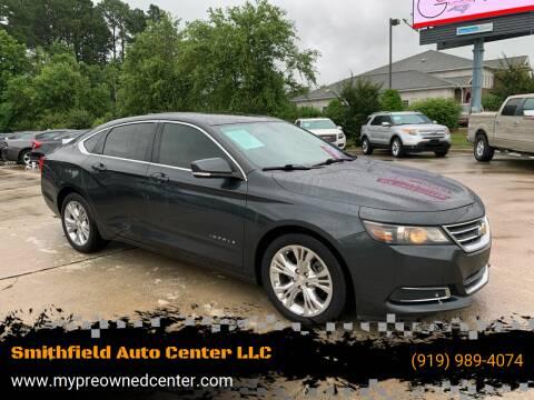 2014 Chevrolet Impala for sale at Smithfield Auto Center LLC in Smithfield NC