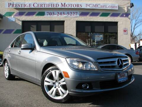 2011 Mercedes-Benz C-Class for sale at Prestige Certified Motors in Falls Church VA