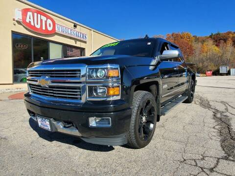 2015 Chevrolet Silverado 1500 for sale at Auto Wholesalers Of Hooksett in Hooksett NH