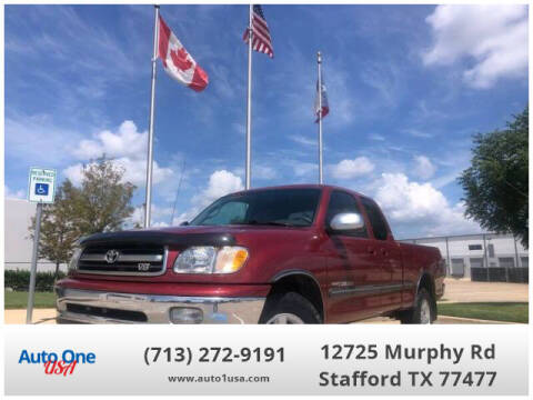 2001 Toyota Tundra for sale at Auto One USA in Stafford TX