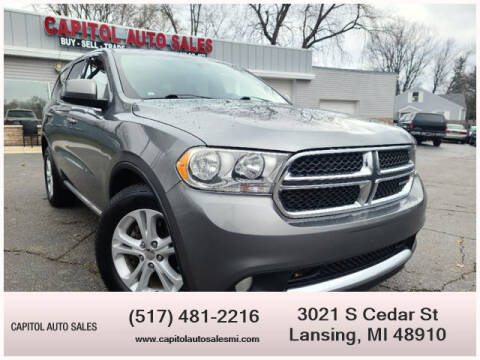 2011 Dodge Durango for sale at Capitol Auto Sales in Lansing MI