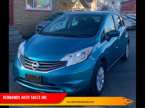 2016 Nissan Versa Note for sale at HERMANOS AUTO SALES INC in Hamilton OH